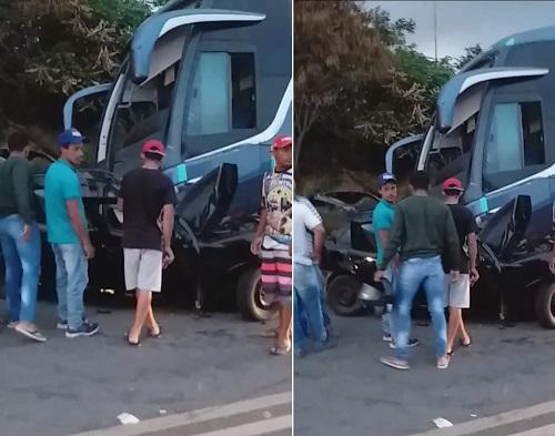 Poções: Quatro pessoas morrem após colisão entre carro e ônibus - Giro Ipiaú